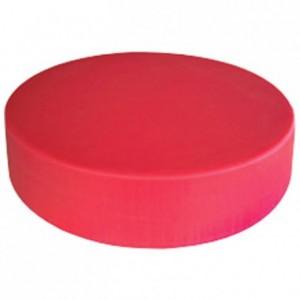 Choping block red Ø 450 mm