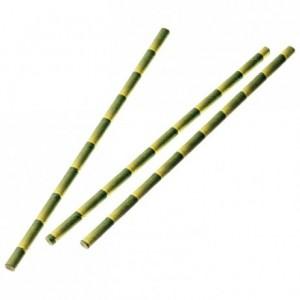Bamboo paper straws (250 pcs)