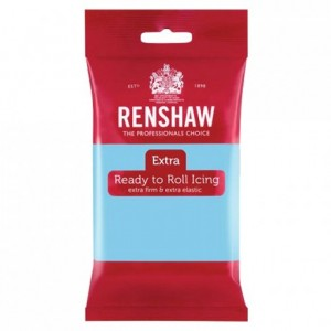 Renshaw Rolled Fondant EXTRA 250 g -Baby Blue-