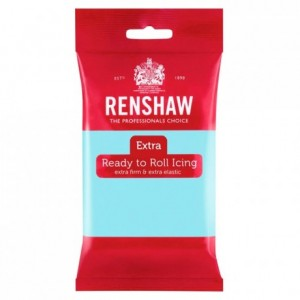 Renshaw Rolled Fondant EXTRA 250 g -Duck Egg Blue-