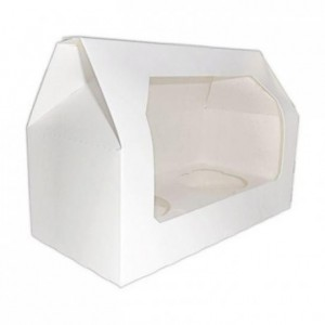 PastKolor cupcake box for 2 cupcake