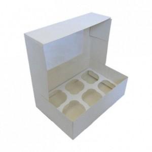 PastKolor cupcake box for 6 cupcake
