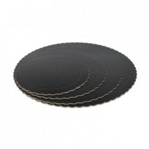 PastKolor cake board black round Ø35 cm