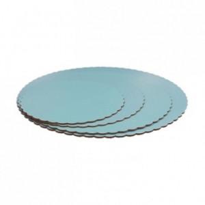 PastKolor cake board blue round Ø20 cm