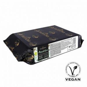 Amatika 46% vegan chocolate blocks 3 kg