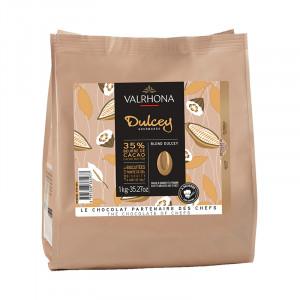 Dulcey 32% blond chocolate Gourmet Creation beans 1 kg