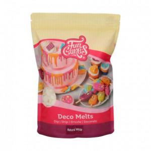 FunCakes Deco Melts -Natural White- No E171 - 1kg