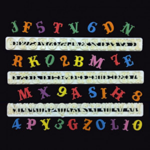 FMM Alphabet & Numbers Tappits Carnival