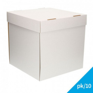 FunCakes Cake Box - White 32x32x32cm pk/10