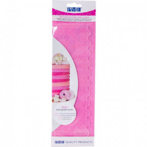 PME Tall Patterned Edge Side Scraper -Ribbed-