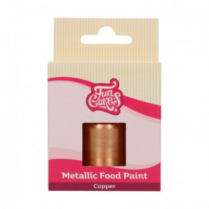 FunCakes Metallic Food Paint Copper30 ml