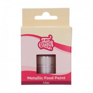 FunCakes Metallic Food Paint Lilac 30 ml
