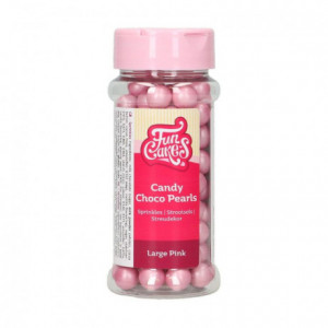 FunCakes Candy Choco Pearls Large Pink 70 g