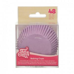 FunCakes Baking Cups Lila pk/48