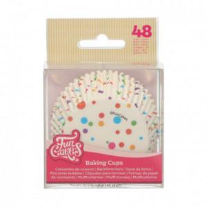 FunCakes Baking Cups Confetti pk/48