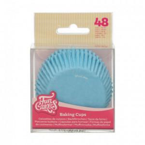 FunCakes Baking Cups Light Blue pk/48