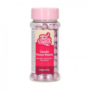 FunCakes Candy Choco Pearls Large Lilac 70 g