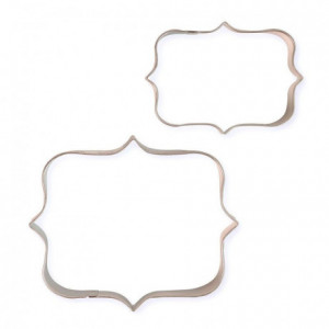 PME Cookie and Cake Plaque Style 1 Set/2