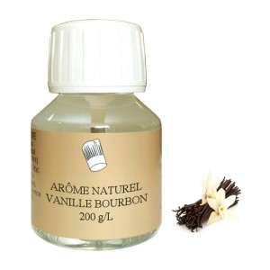 Bourbon vanilla 200 g/L natural flavour 500 mL