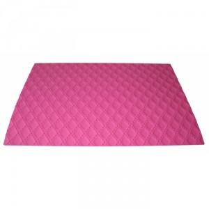 Matelasse decorative silicone mat