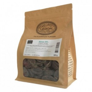 Abinao 85% dark chocolate Blended Origins Grand Cru beans 500 g