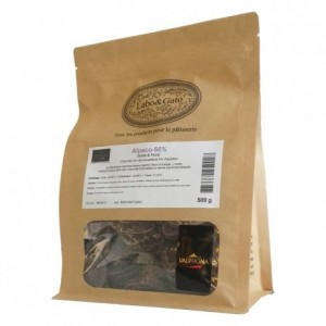 Alpaco 66% dark chocolate Single Origin Grand Cru Equador beans 500 g