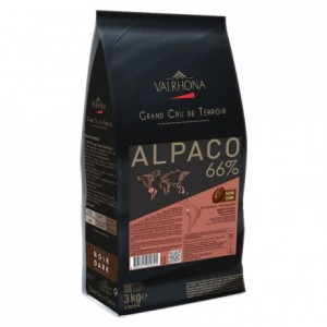 Alpaco 66% dark chocolate Single Origin Grand Cru Equador beans 3 kg