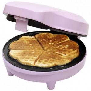 Bestron Sweet Dreams - Heart Shaped Waffle Maker