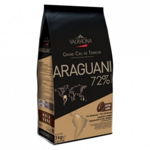 Araguani 72% dark chocolate Single Origin Grand Cru Venezuela beans 3 kg