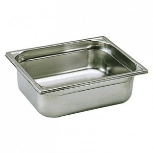Container without handle stainless steel GN 1/2 H 100 mm