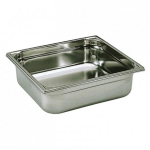 Container without handle stainless steel GN 2/3 H 65 mm