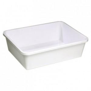 Rectangular dough container