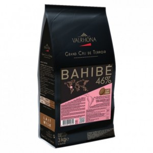 Bahibe 46% milk chocolate Single Origin Grand Cru Dominican Republic beans 3 kg