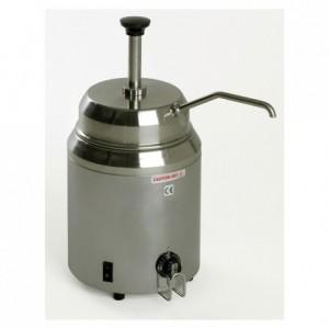 Bain-marie with pump 2.8 L