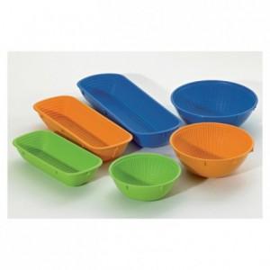Bread basket oval orange 350 x 130 x 72 mm