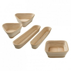 Triangle country bread basket 230 x 230 x 85 mm