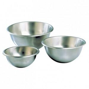 Hemispherical mixing bowl stainless steel Ø 300 mm