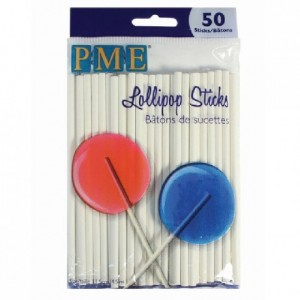 PME Lollipop Sticks 11,5 cm pk/50