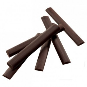 Dark chocolate sticks 55% for chocolatines 5.5 g x 300 pieces