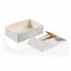 Box for petits-fours without lid 250 g (100 pcs)
