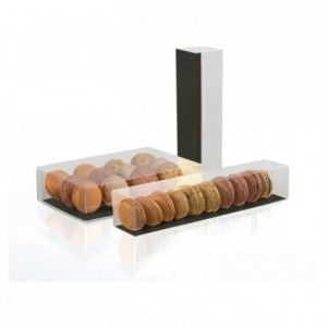 Box of 12 macarons with wedges (50 pcs)