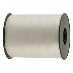 Gift wrap ribbon white 500 m x 7 mm