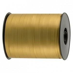 Gift wrap ribbon gold 500 m x 7 mm