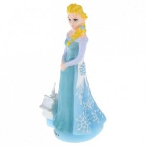 Frozen Elsa-shaped candle