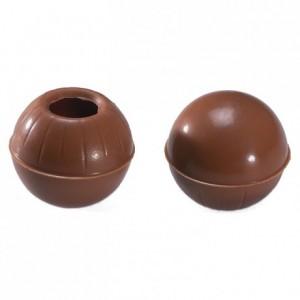 Milk chocolate hollow forms 504 pcs