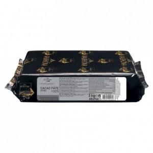 Pure cocoa paste (100% cocoa) Professional Signature blocks 3 kg