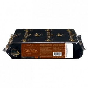 Café Noir 57% dark and coffee chocolate Gourmet Creation blocks 3 kg