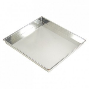 Baking sheet tin H35 mm 300x200 mm