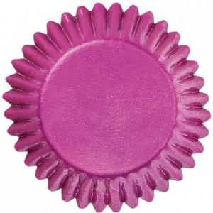 Wilton Foil Candy Cups Pink pk/75