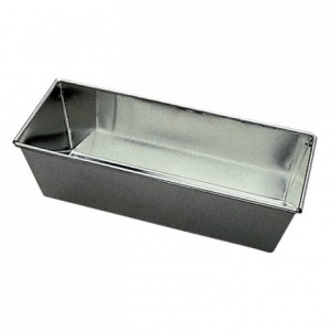 Cake mould raised edge with wire tin 300x105 mm (pack of 3)